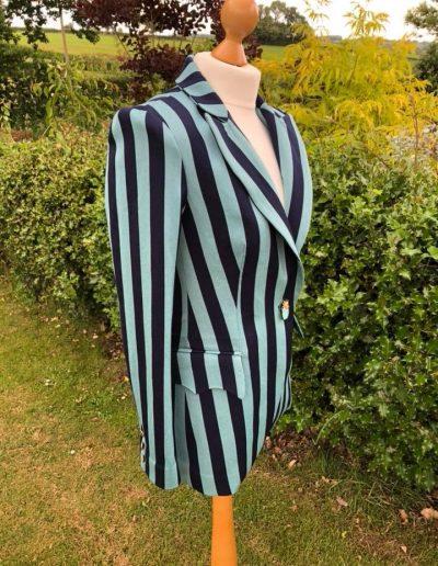 Striped blazer side